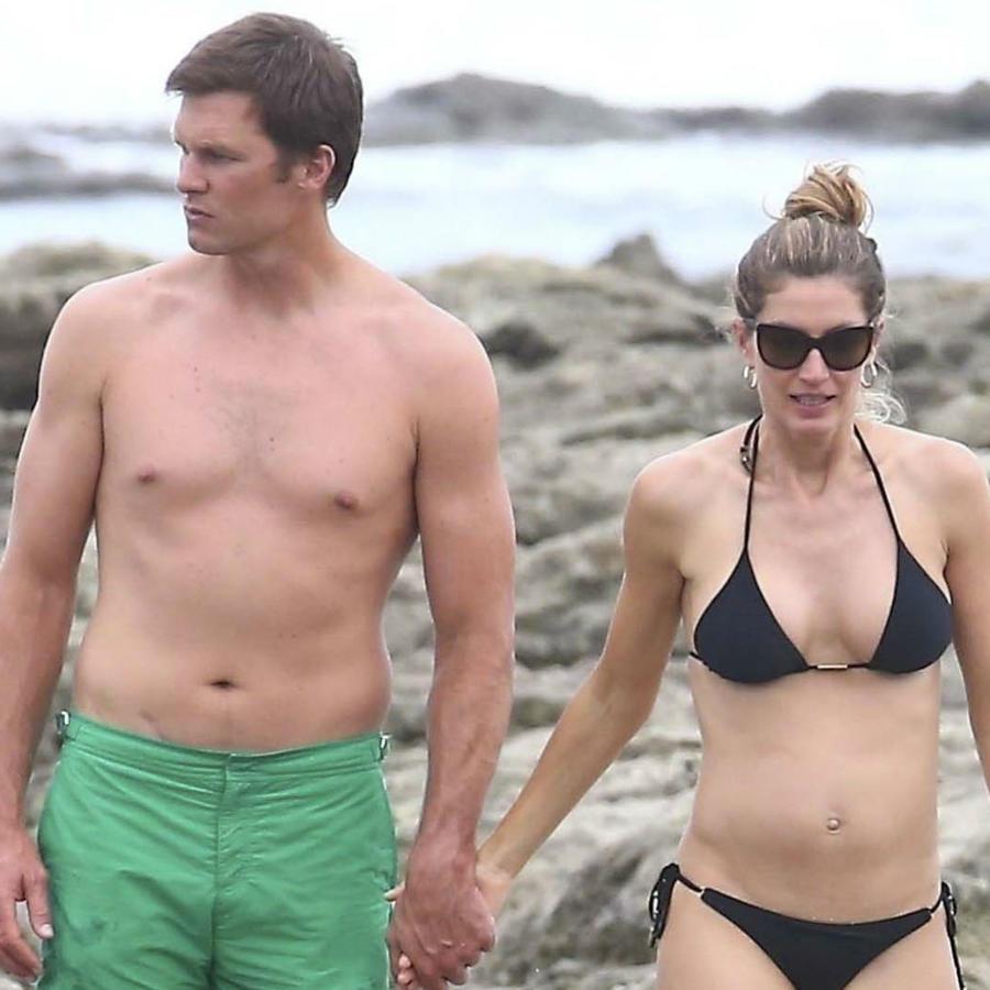 Tom Brady con Gisele Bündchen