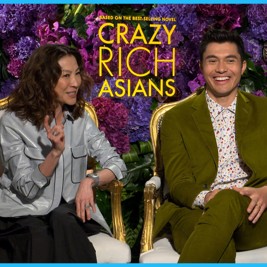 """Interview with the cast of """"Crazy Rich Asians"""""""