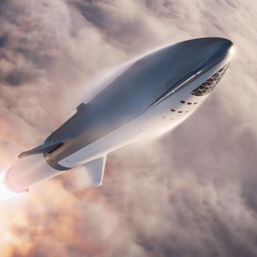 Big Falcon Rocket