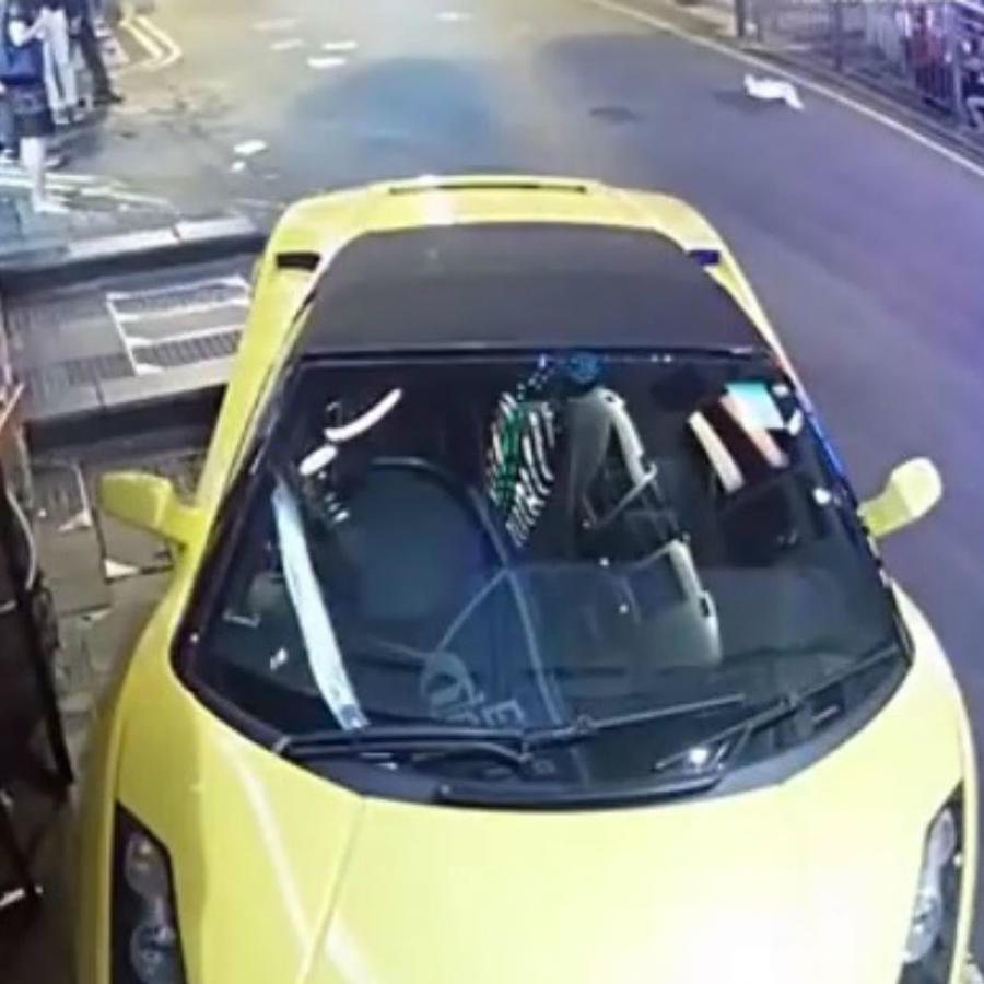 vehículo sin frenos