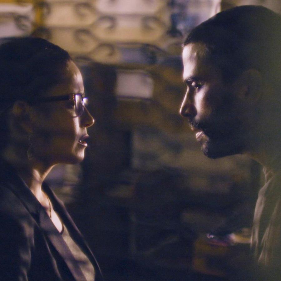Ignacio Serricchio y Ana Claudia Talanacón en El Recluso