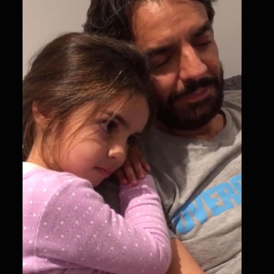 Eugenio Derbez y Aitana