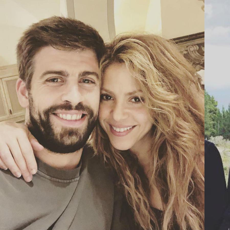 Mila, Shakira y Piqué