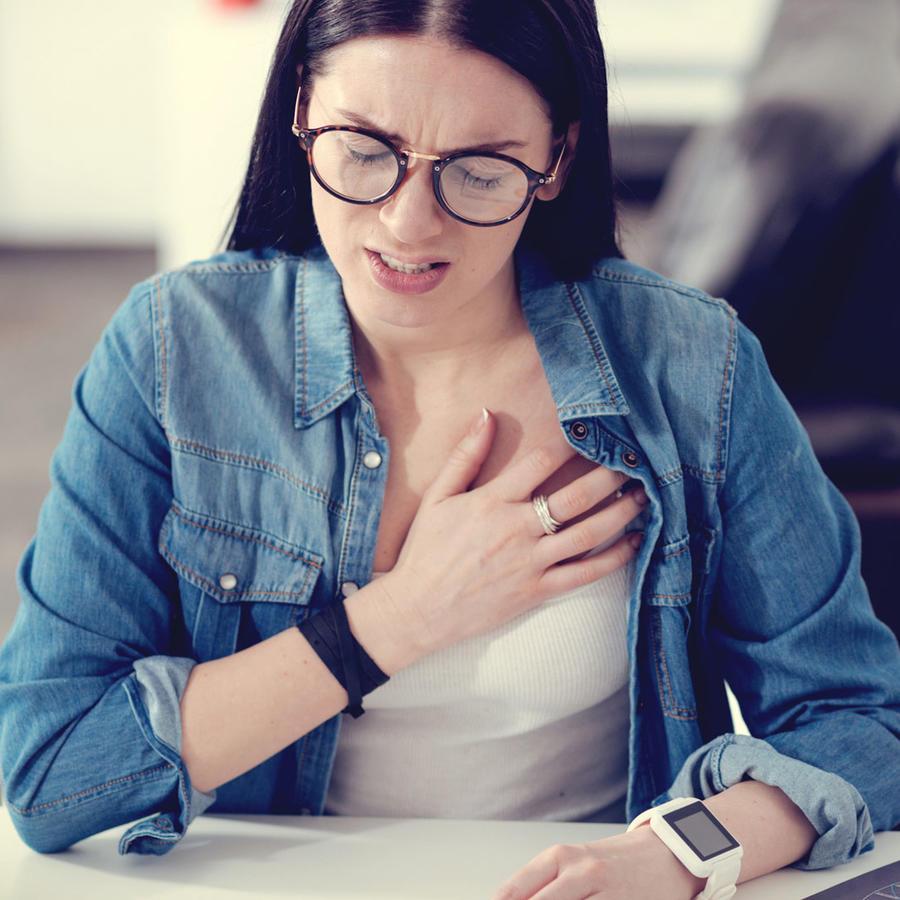 5 síntomas de ataque cardíaco en las mujeres