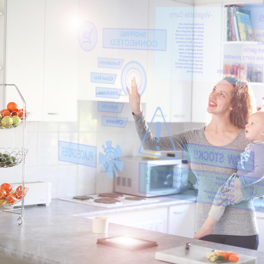 Smart home technology.