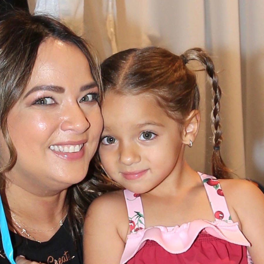Adamari López y su hija, Alaïa