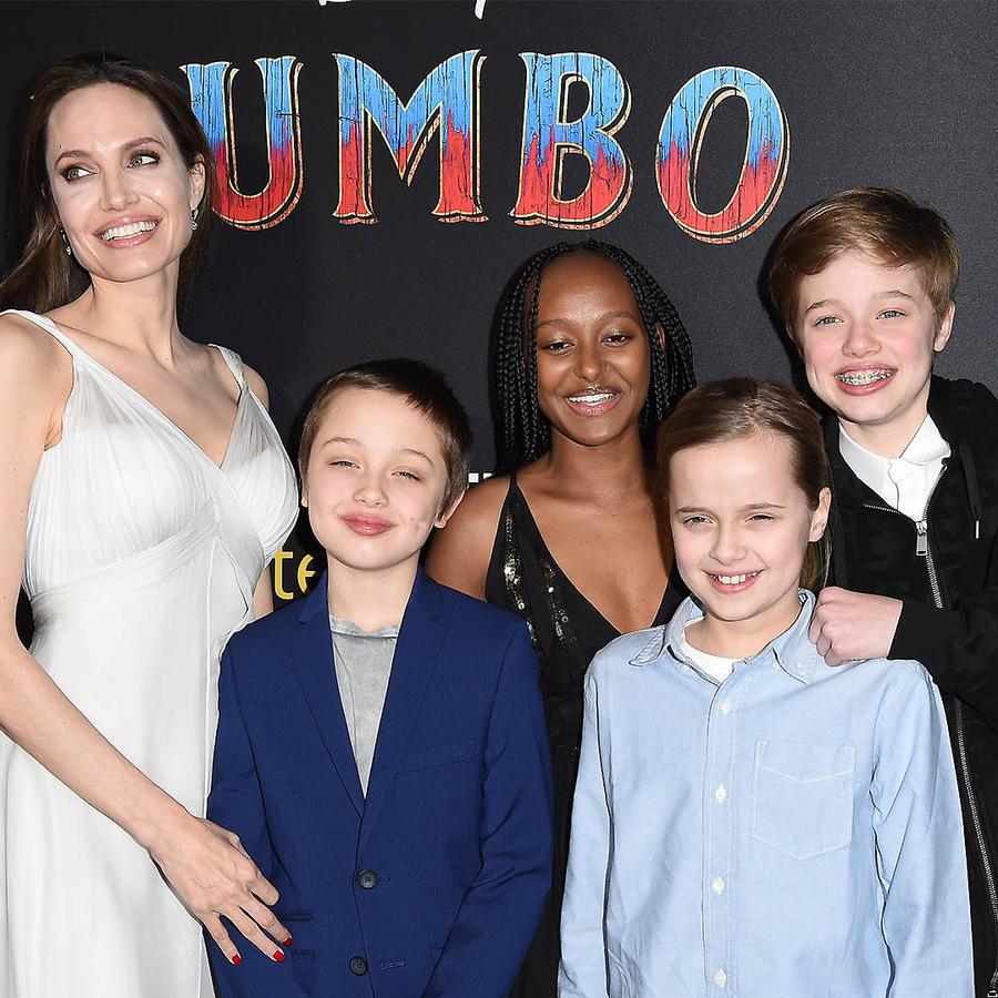 Los hijos de Angelina Jolie ya son adolescentes