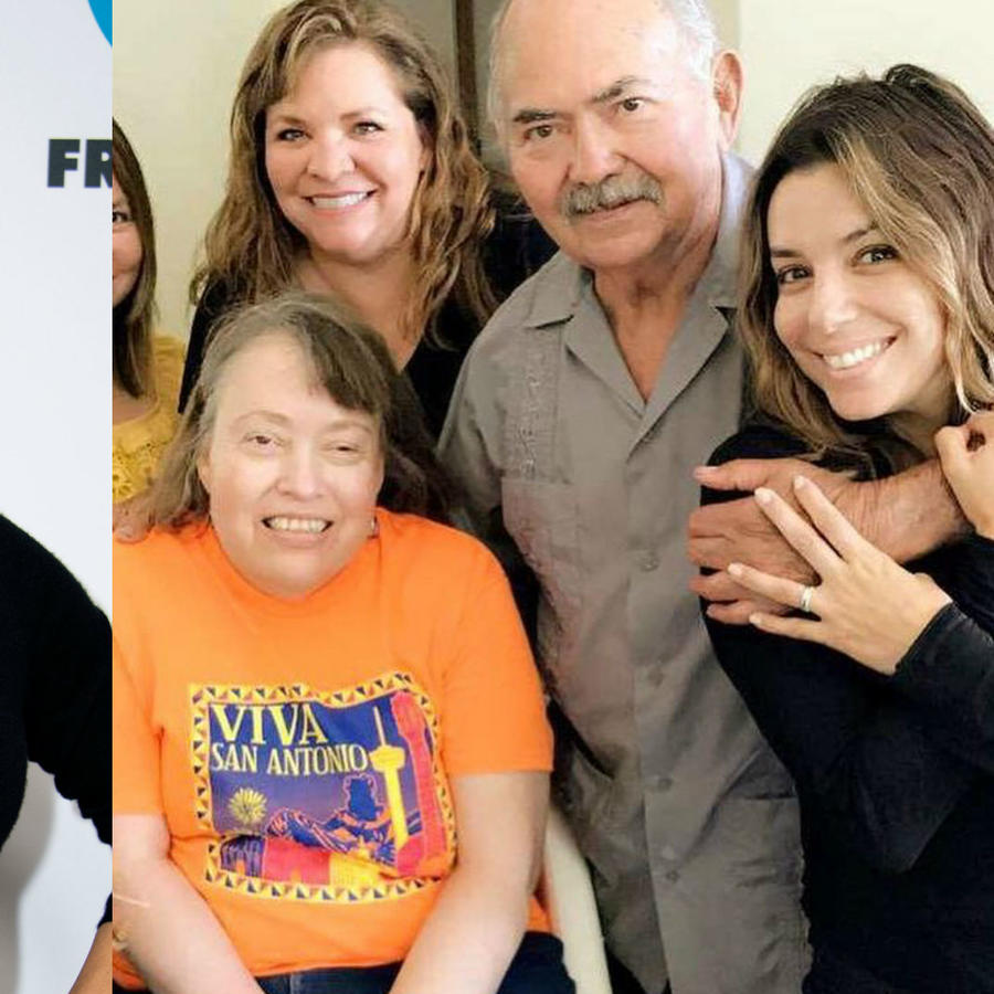 Eva Longoria y su familia