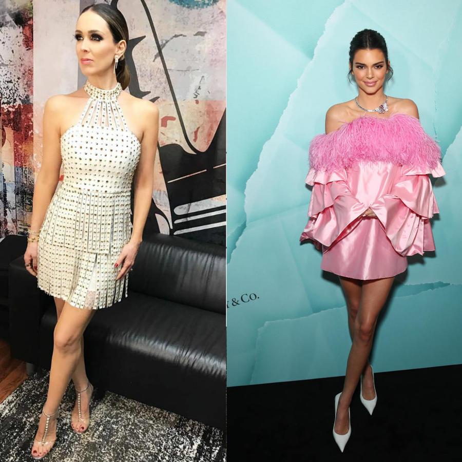 Jacky Bracamontes, Kendall Jenner y JLo