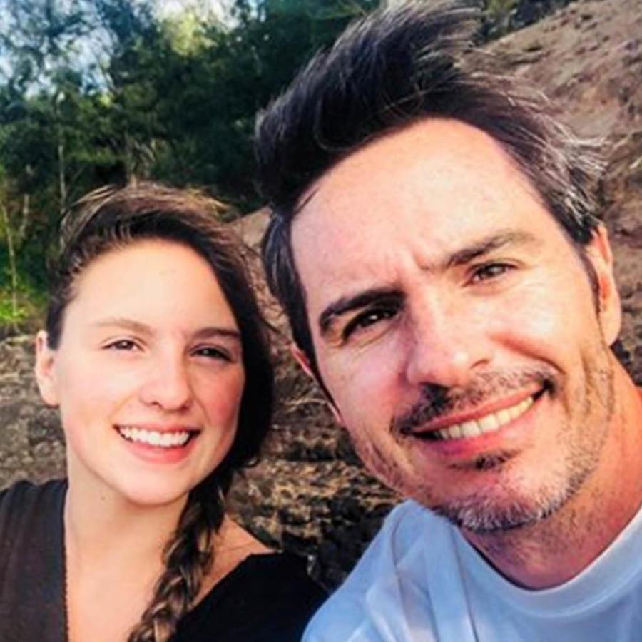 Lorenza, la hija mayor de Mauricio Ochmann.