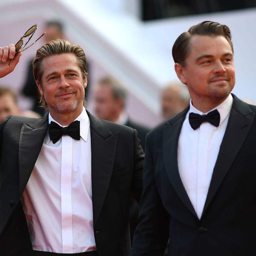 Brad Pitt y Leonardo DiCaprio en Cannes 2019