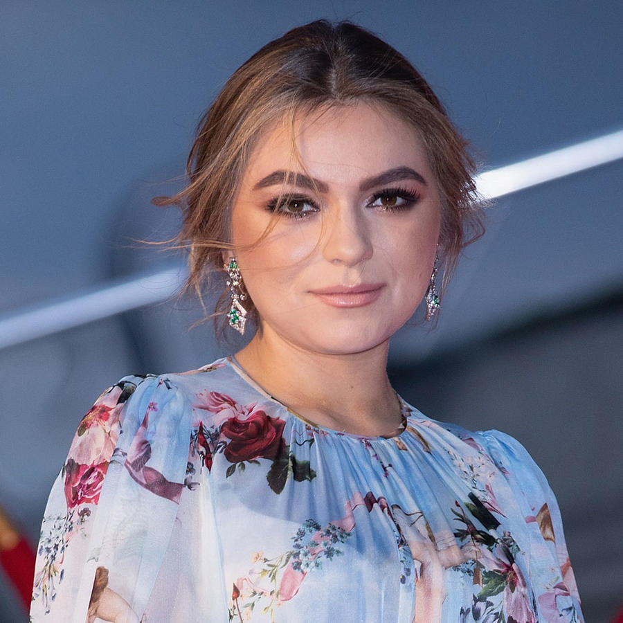 Sofía Castro en el desfile de moda de Dolce & Gabbana en México