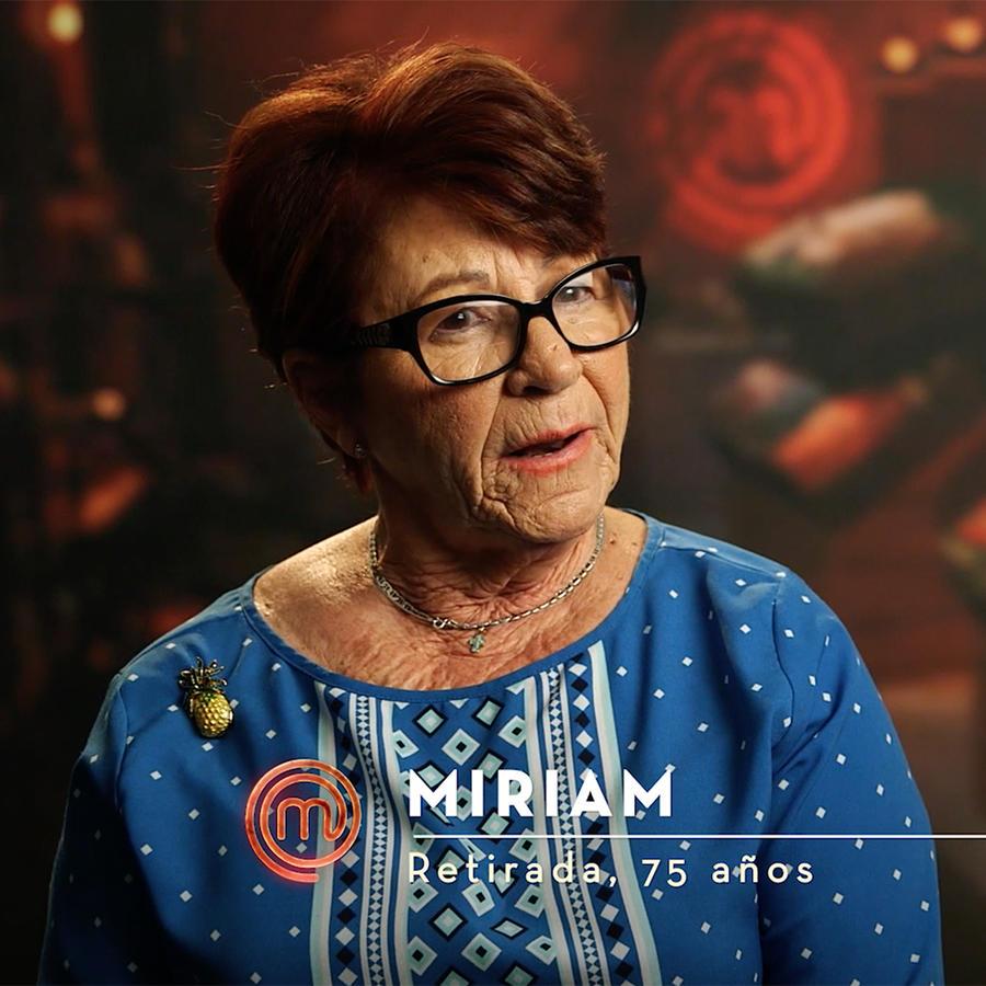 Miriam Palomino quiere ser la participante de mayor edad en Masterchef Latino