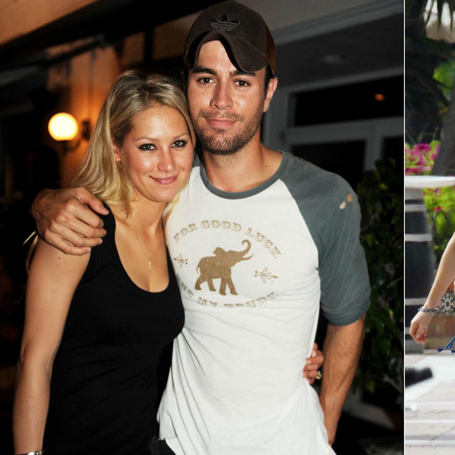 Enrique Iglesias y Angelique Boyer con sus parejas