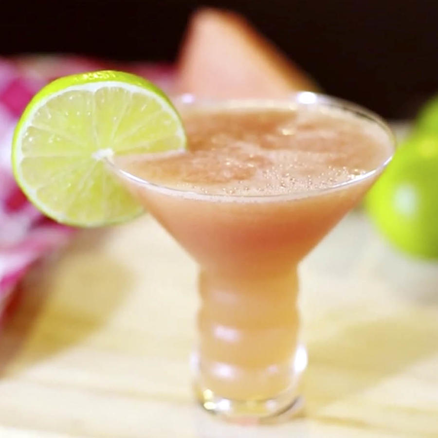 Martini de sandía bajo en calorías