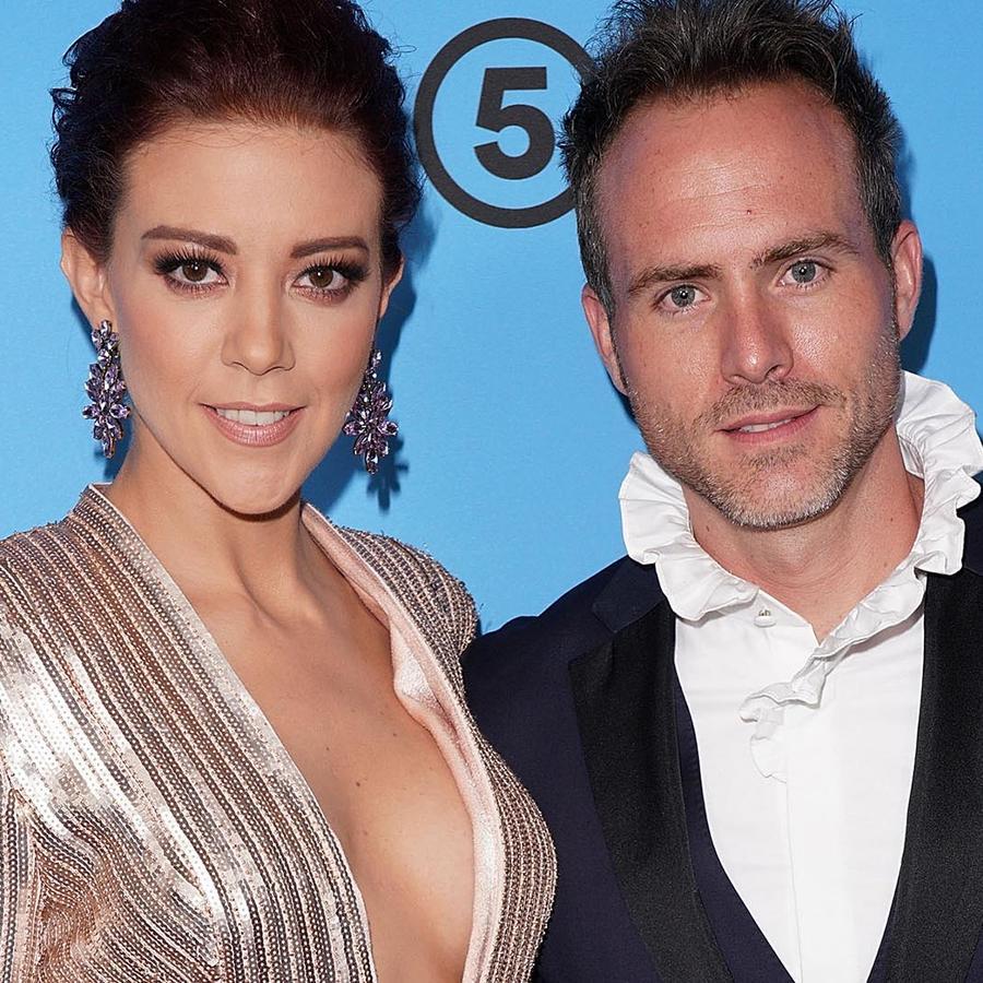 Fernanda Castillo y Erik Hayser en el estreno de Ya Veremos