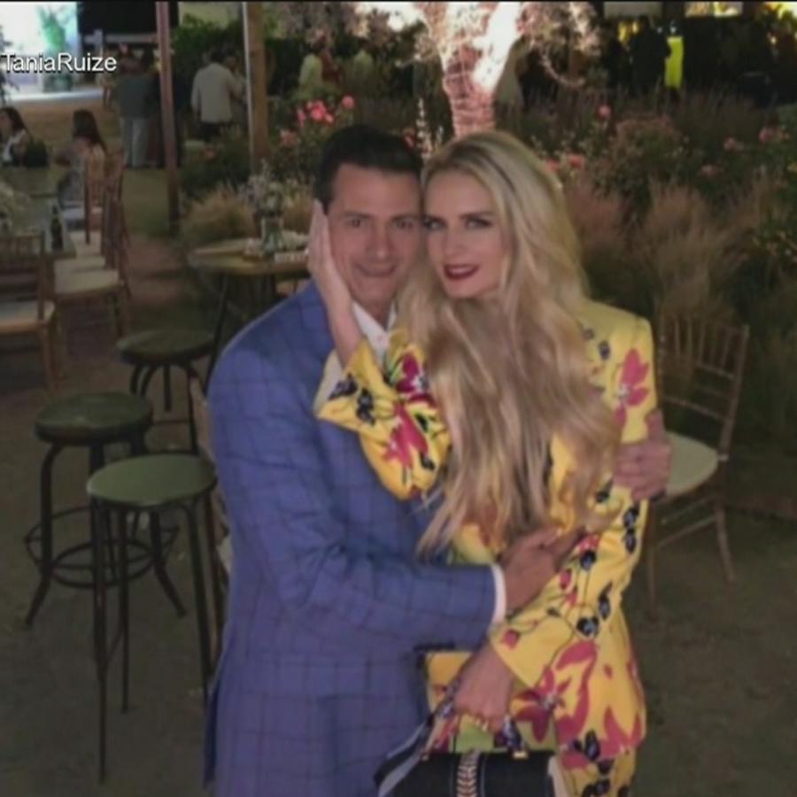 Tania Ruiz da gracias a Dios por su relación con Peña Nieto (VIDEO)
