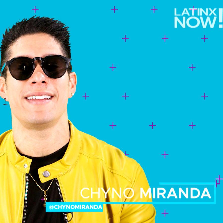 Chyno Miranda entrvista Latinx Now!