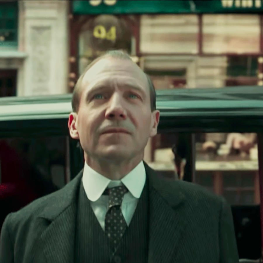 "Ralph Fiennes in ""The King's Man"""