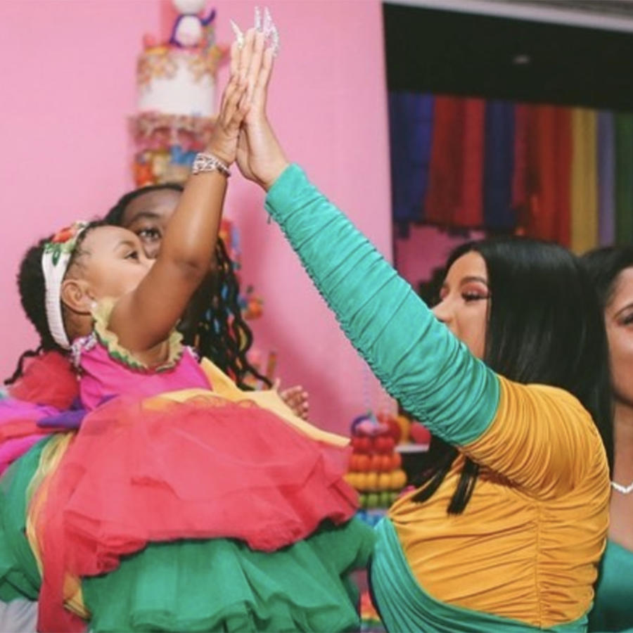 First look at Cardi B & Offset's $400K 1st B-day Party for Daughter Kulture