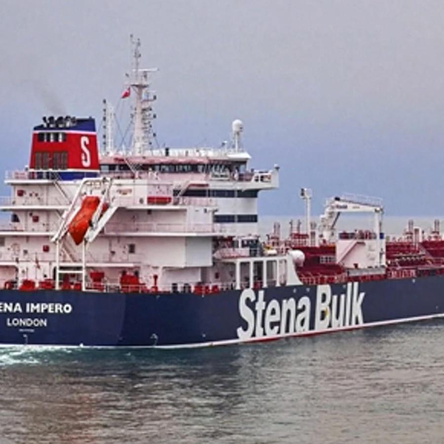 Foto de archivo del buque petrolero de bandera británica Stena Impero, capturado por la Guardia Revolucionaria iraní este viernes.