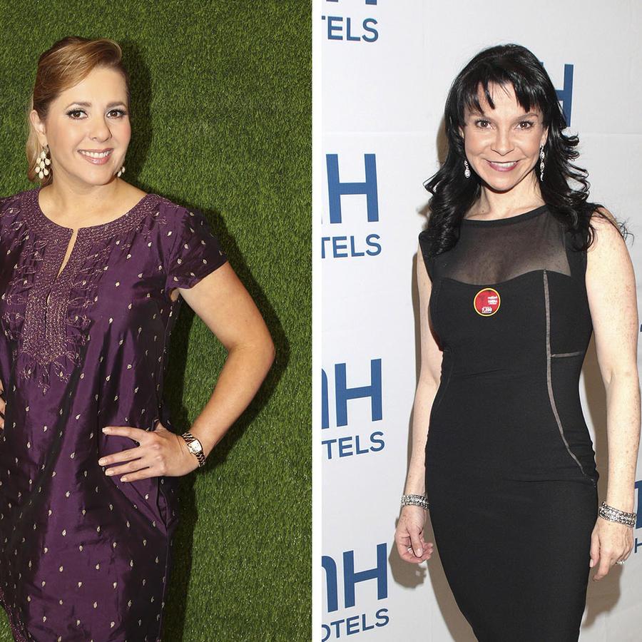 Ana María Canseco, Mariana Garza y Jack Nicholson