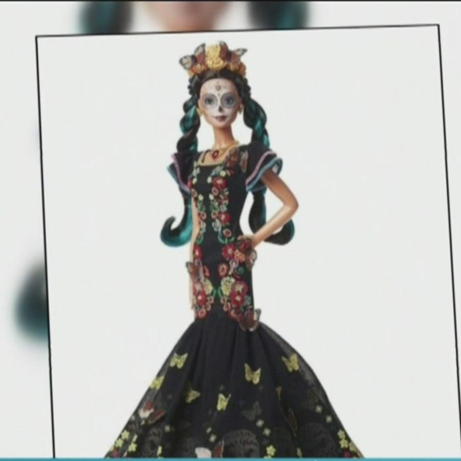 Barbie se viste de Catrina