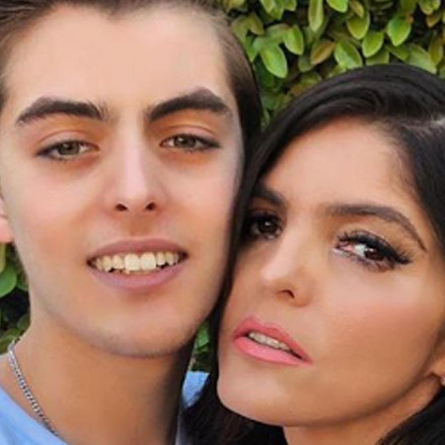 Ana Bárbara y su hijo Emiliano