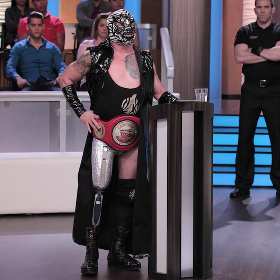 Quiero tener una oportunidad en la lucha libre