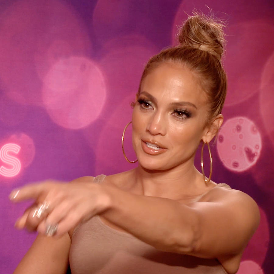 "Jennifer Lopez promoting ""Hustlers"""