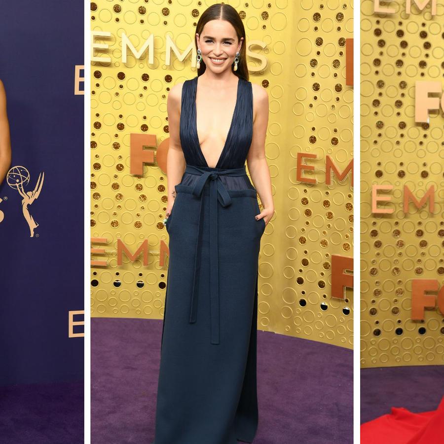 Zendaya, Emilia Clarke y Mandy Moore en los premios Emmy 2019