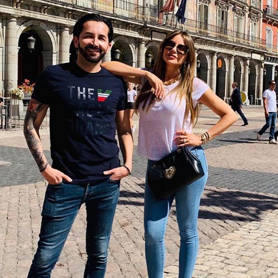 Sofía Vergara de vacaciones en Madrid