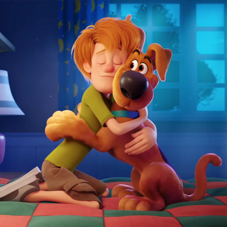 "Scooby-Doo and Shaggy in ""SCOOB!"" the movie"
