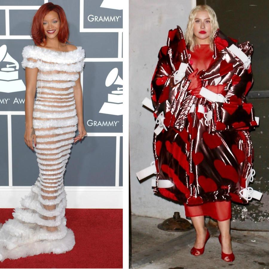 Rihanna, Christina Aguilera y Lady Gaga