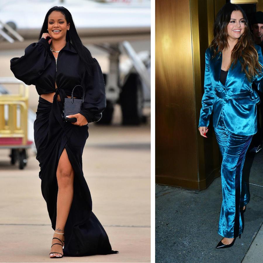 Rihanna, Selena Gomez y Hailey Baldwin