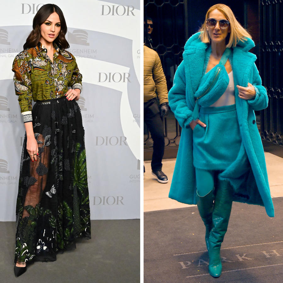 Eiza González, Celine Dion y Kate Middleton