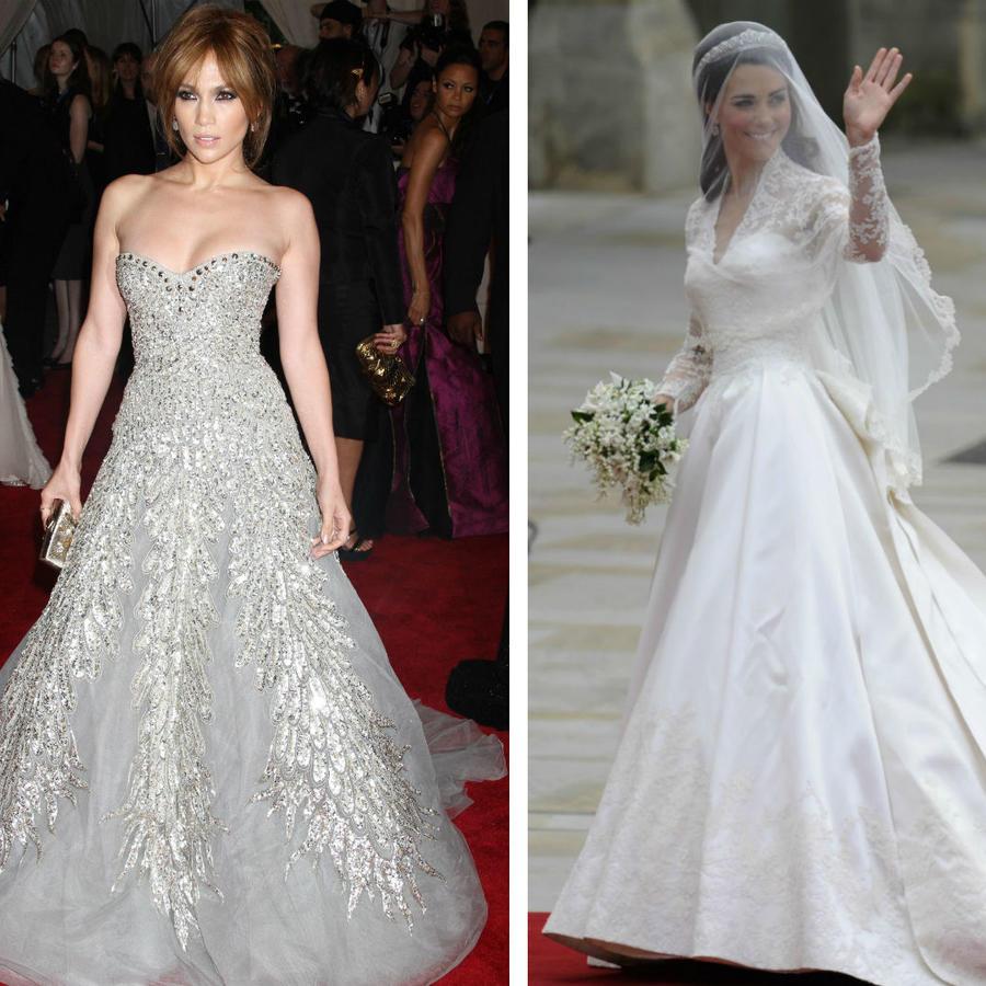 Jennifer Lopez, Kate Middleton y Beyoncé