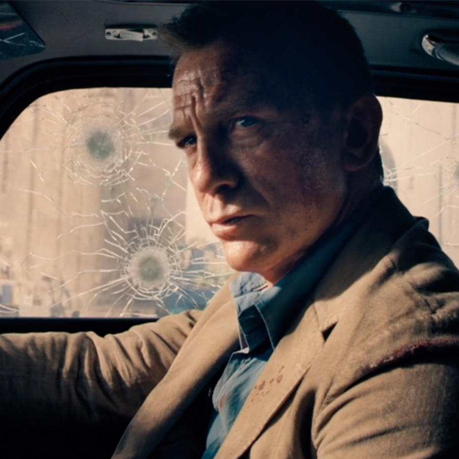 No time to die, Daniel Craig as James bond