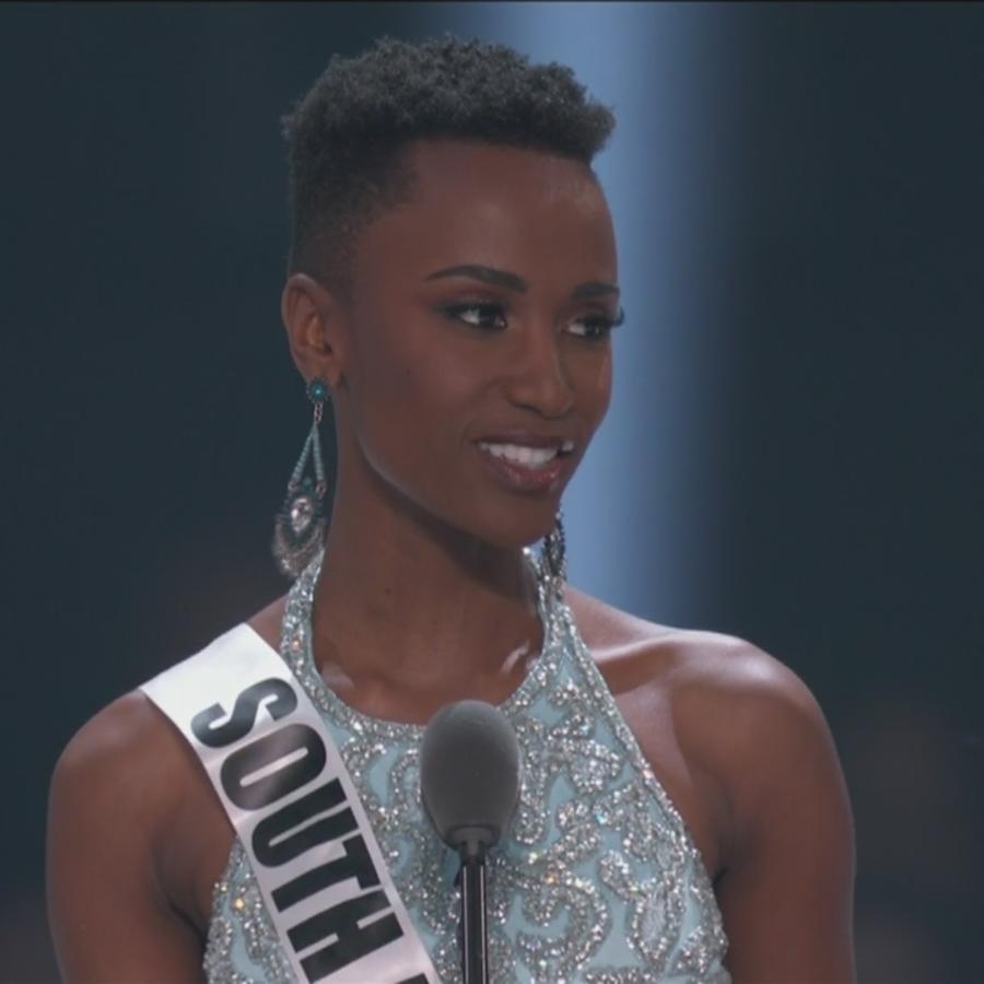 Zozibini Tunzi, Miss Sudáfrica 2019, Miss Universo 2019