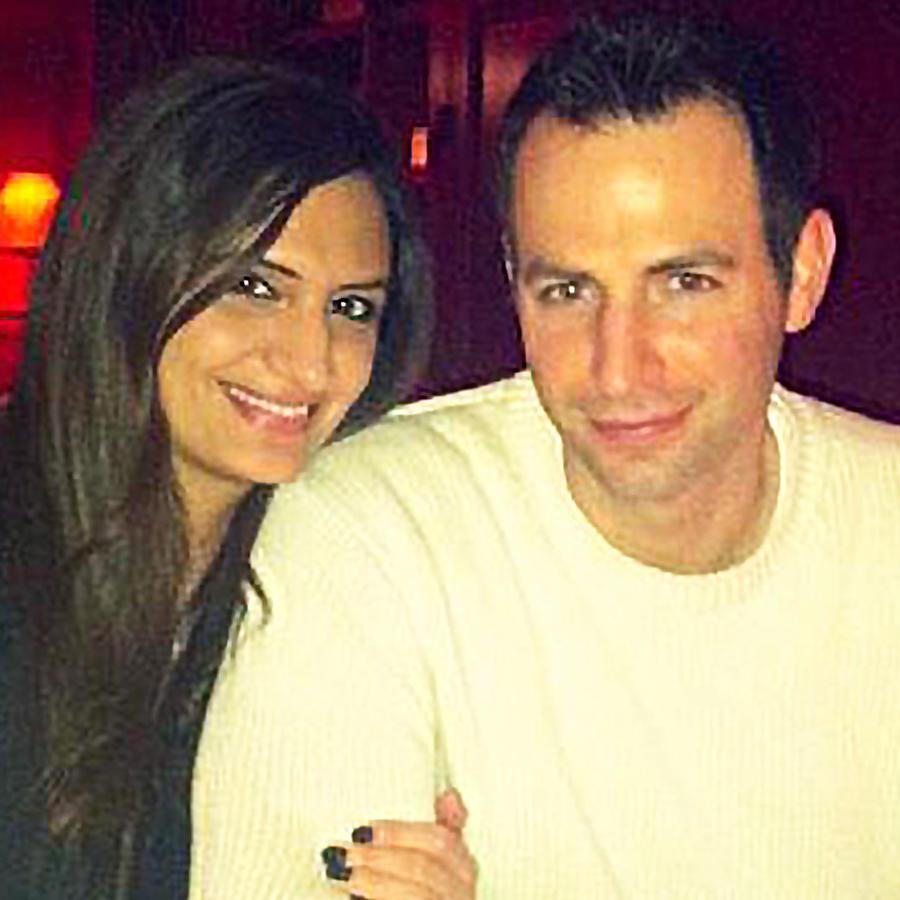 Cindy Karadsheh Soave con su esposo