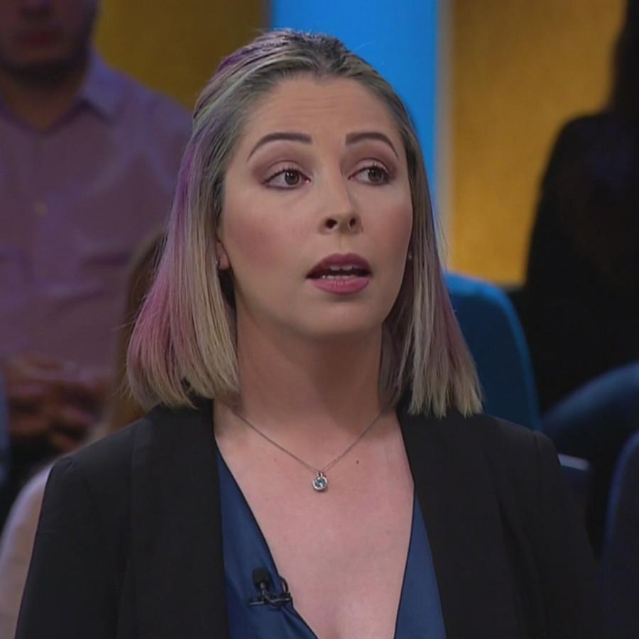 Gabriela no puede tener hijos por su malformación