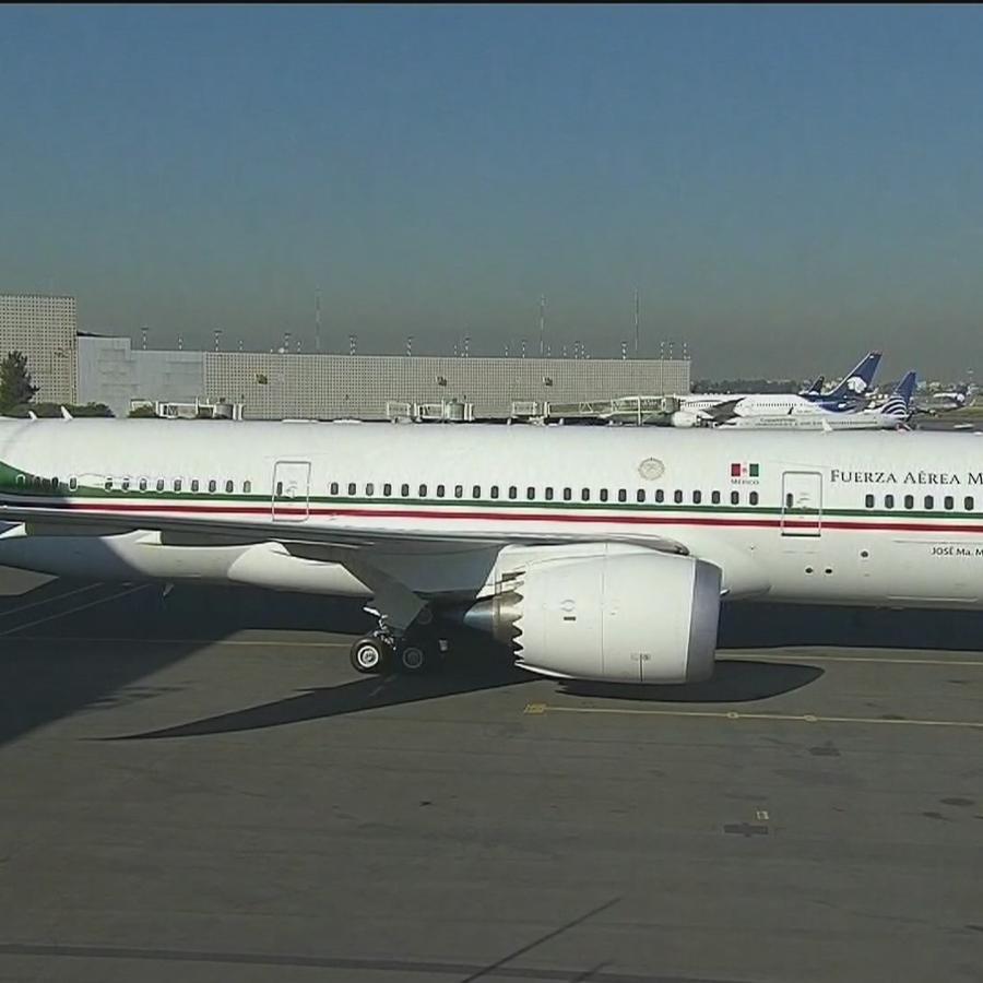 El avión presidencial mexicano