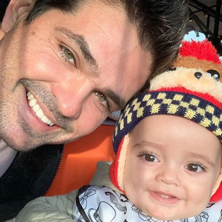 Ferdinando Valencia con Tadeo