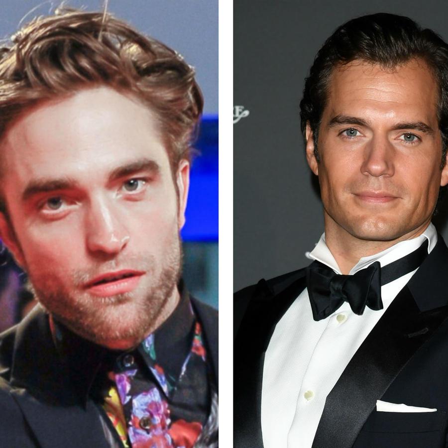 Robert Pattinson, Henry Cavill y Bradley Cooper
