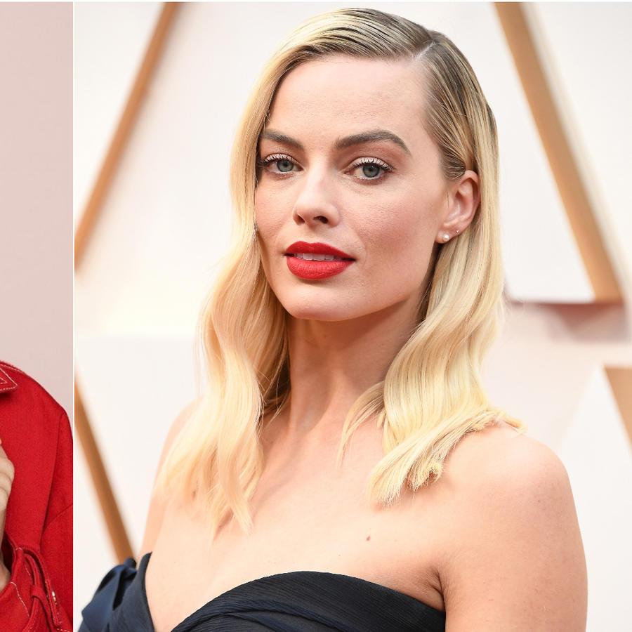 Emma Roberts y Margot Robbie
