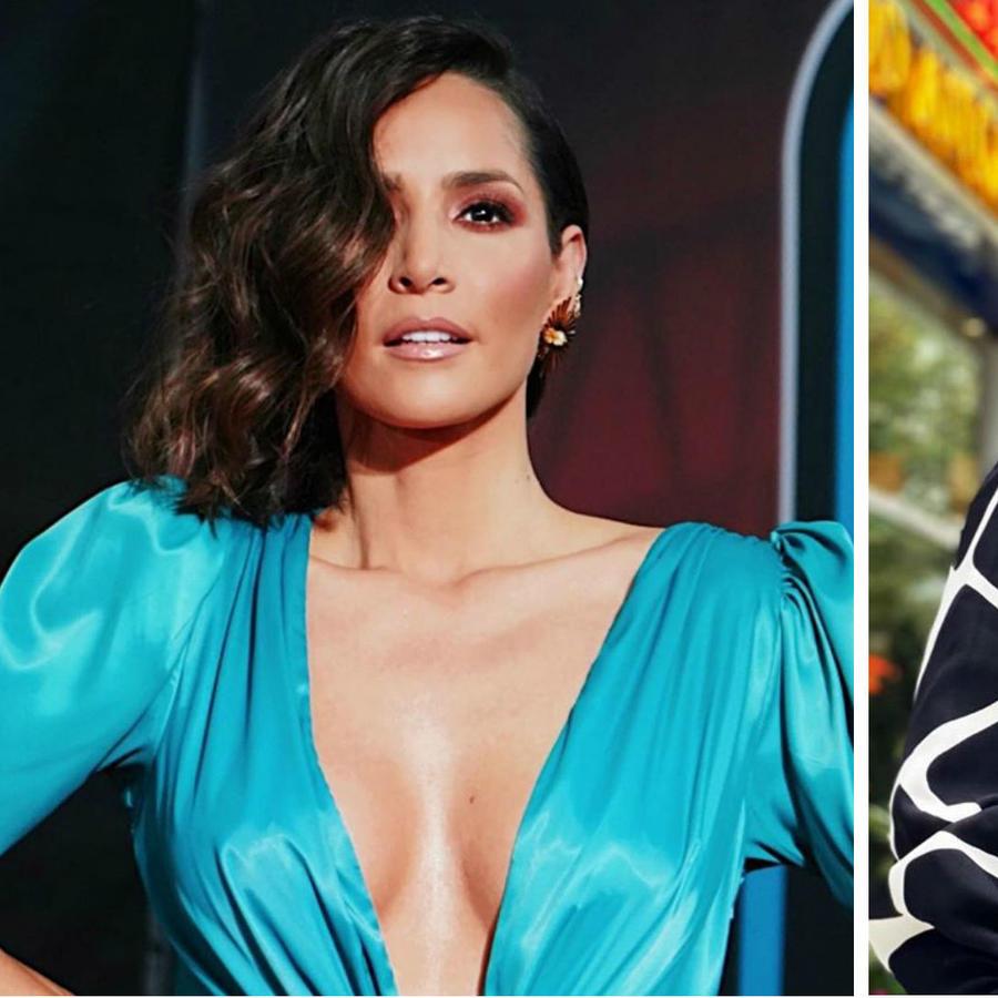 Jennifer Lopez y Carmen Villalobos