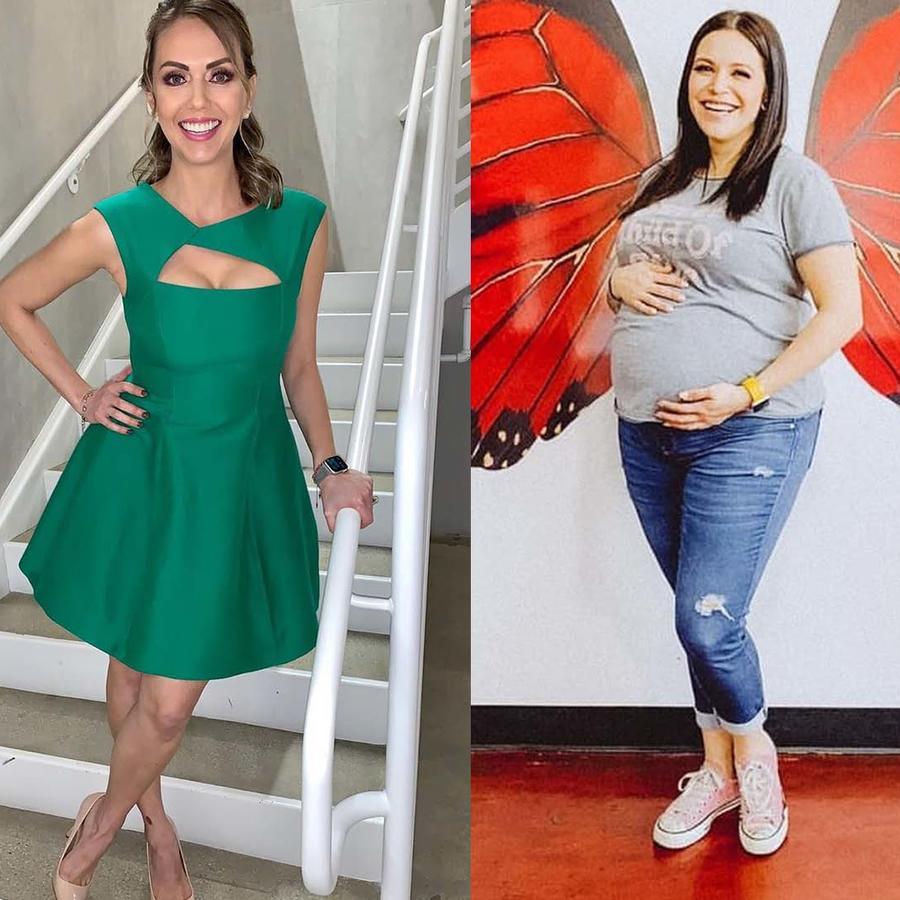 Famosas embarazadas pandemia