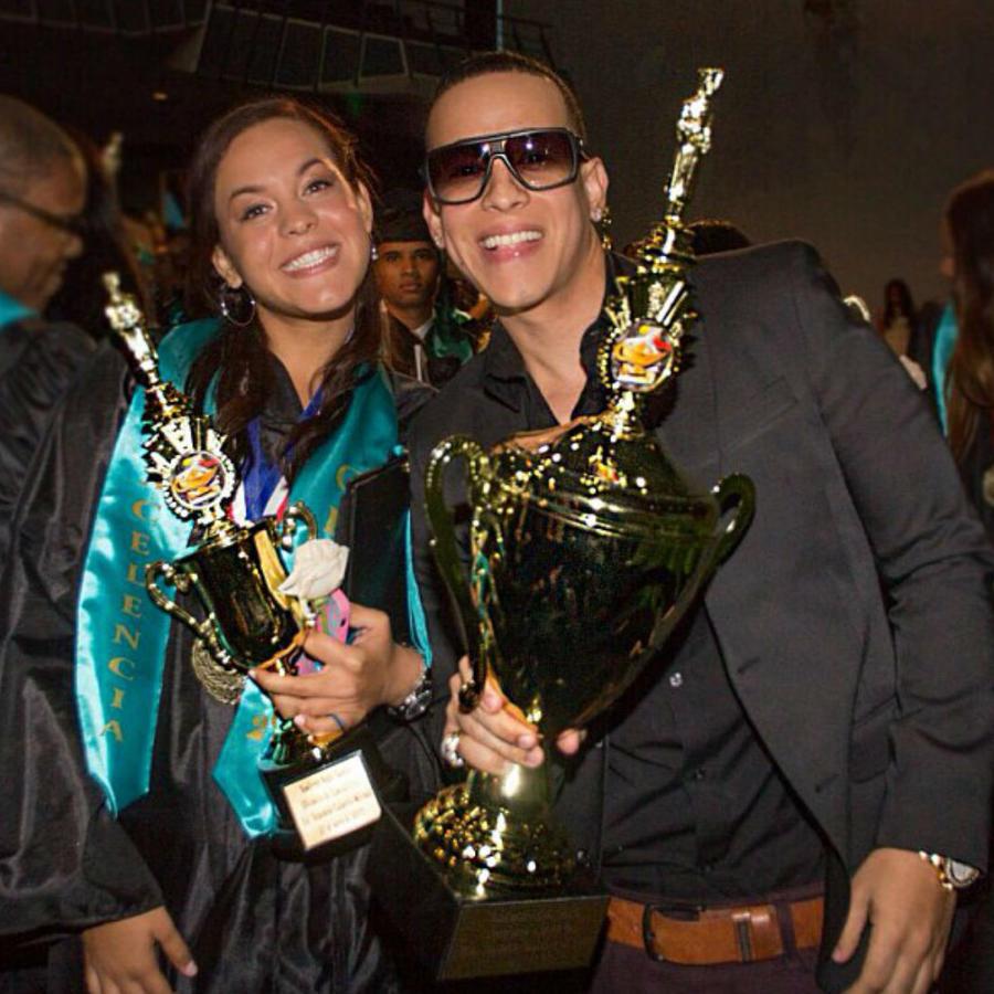Daddy Yankee y su hija, Yamilette