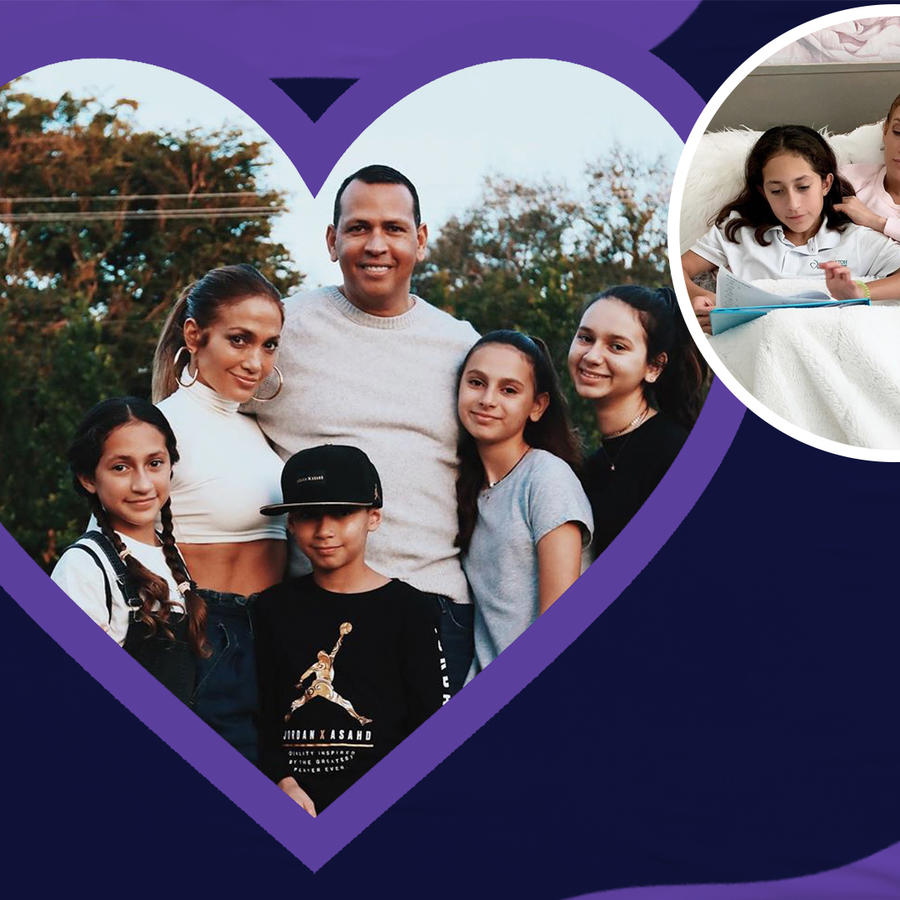 JLO & A-Rod's Best Family Moments |Public Display of Amor