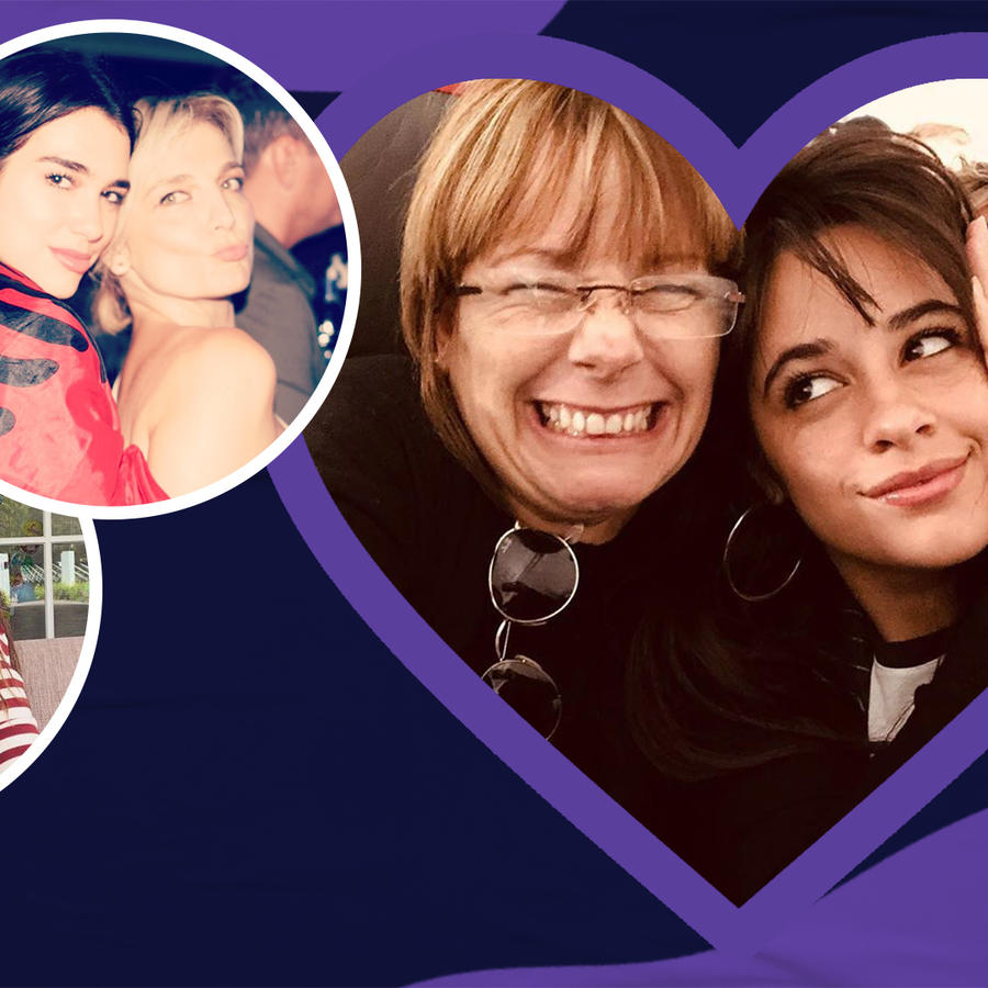 Celebrities With Their Moms |Public Display of Amor